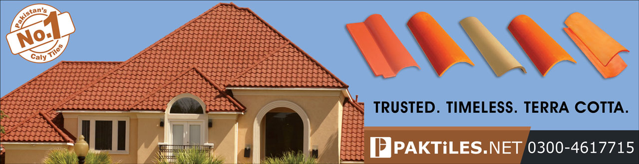 Pak Clay Tiles - Terracotta Bricks Wall and Floor Khaprail Roof Tiles Lahore