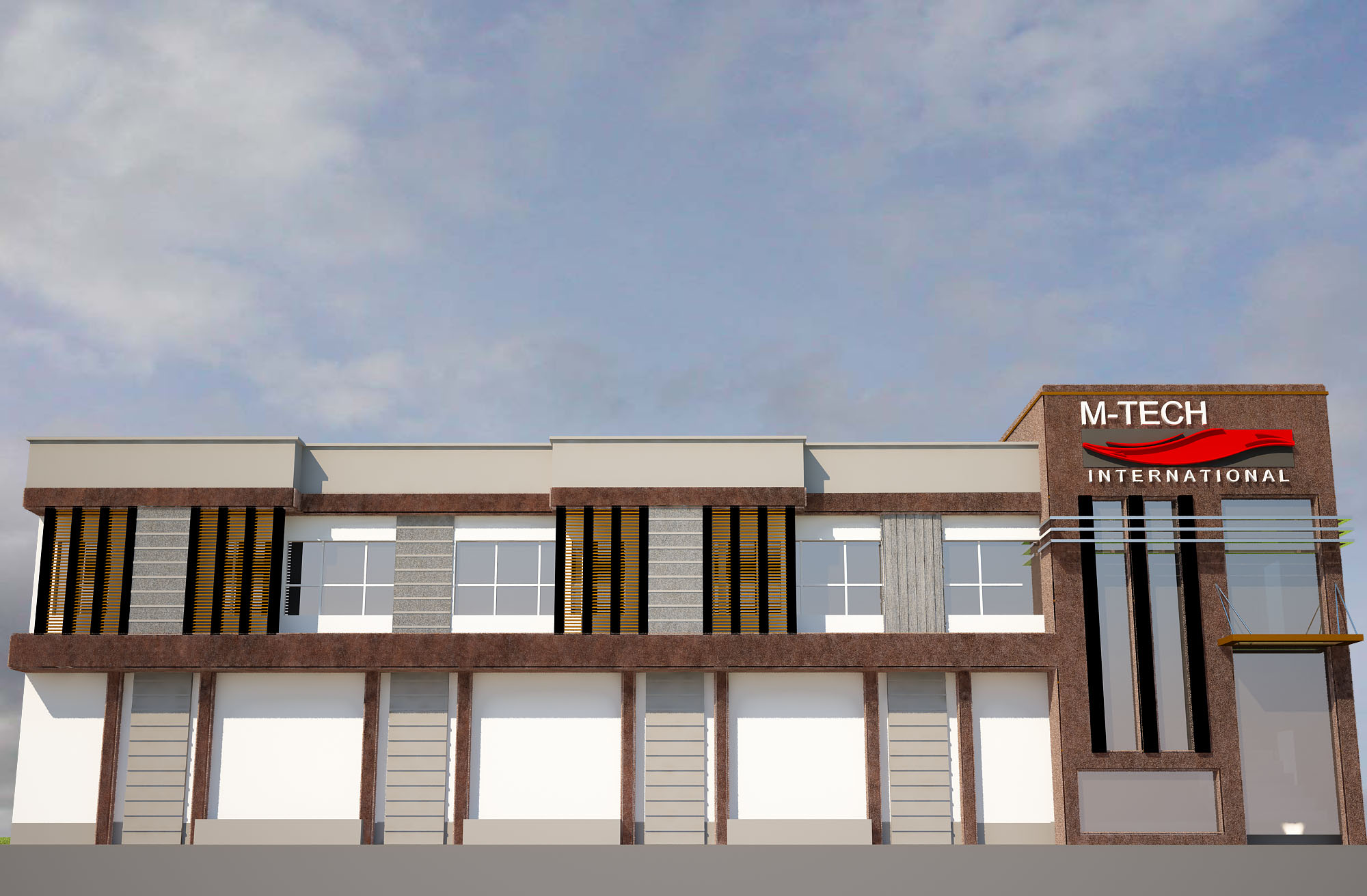 Front Elevation Of Office Building : Front elevation of office building designs