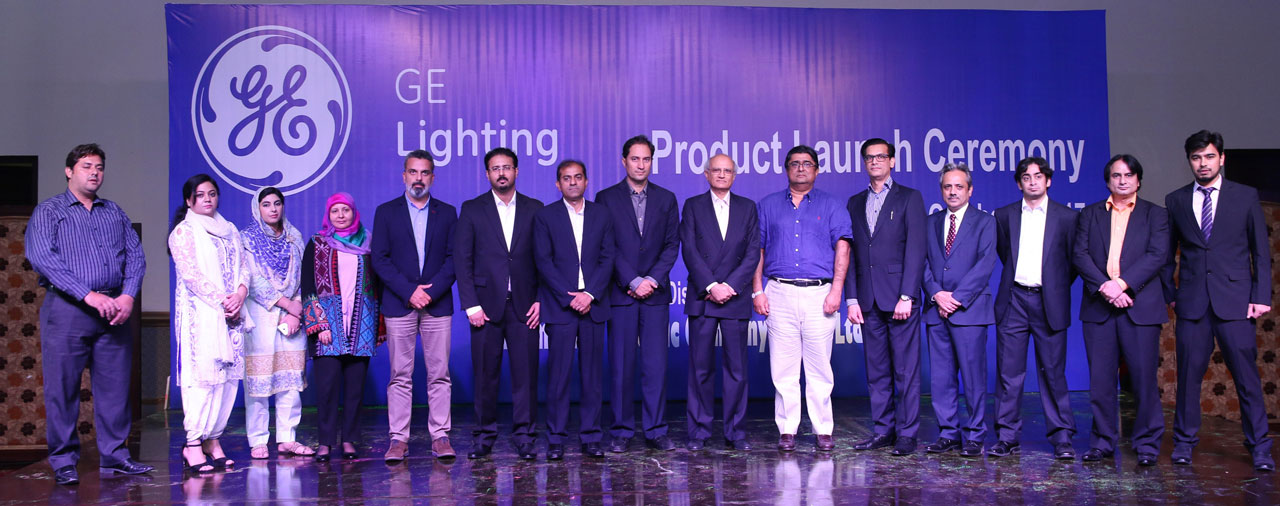 Seen in the photo Sarim Sheikh (President & CEO, GE Pakistan Iran & Afghanistan) and Tahir Rehman (Managing Director, IEC) at the launch ceremony of the channel platform.
