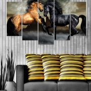 Wall Frames 5 Pieces Canvas Set - Digitally Printed Wall Canvas Frames