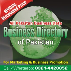 All Pakistan Business Data for Marketing