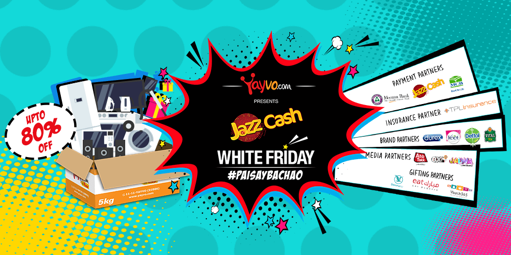 Yayvo JazzCash White Friday